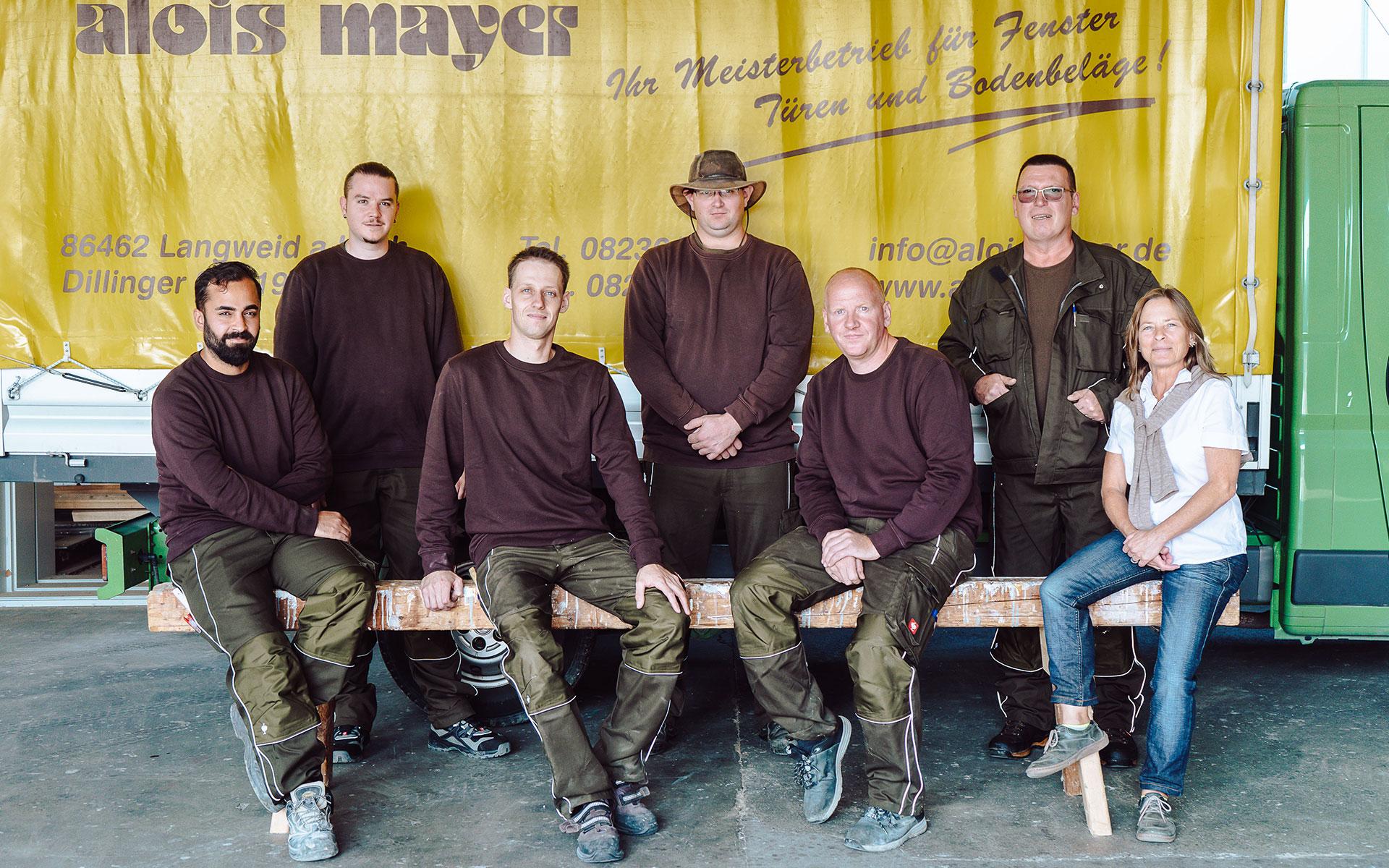 Team der Schreinerei Mayer Langweid