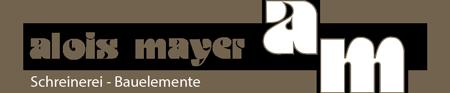 Alois Mayer – Schreinerei und Bauelemente, Langweid am Lech Logo