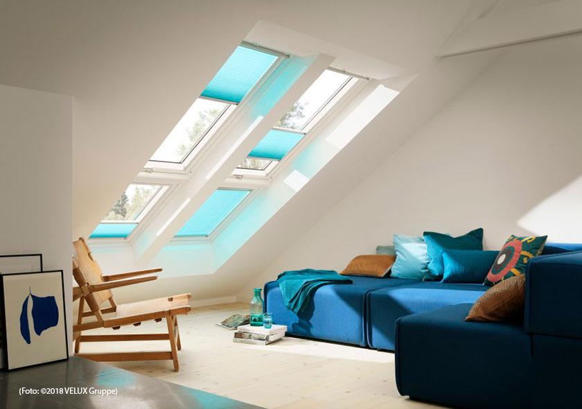 Velux Dachfenster Verdunkelung